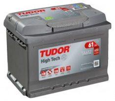 TUDOR High Tech 61Ah 600A R+ TA612