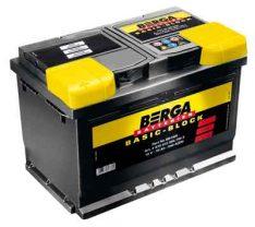 BERGA Basic Block 12V60Ah 540A R+