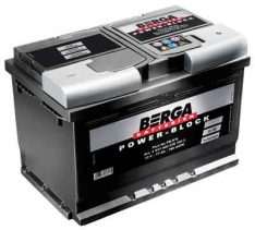 BERGA Power Block 12V72Ah 680A R+