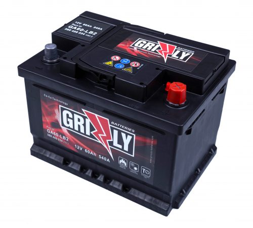 GRIZZLY 12V60Ah 540A