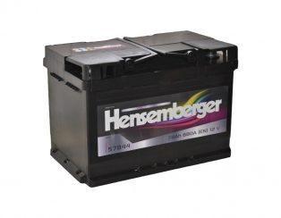 Hensemberger 12V78Ah 680A