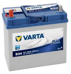 VARTA 45Ah 330A BLUE Dynamic L+B34