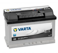 VARTA 70Ah 640A BLACK Dynamic R+ E9