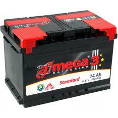 Акумулатор A-Mega Standart 12V74Ah 720A