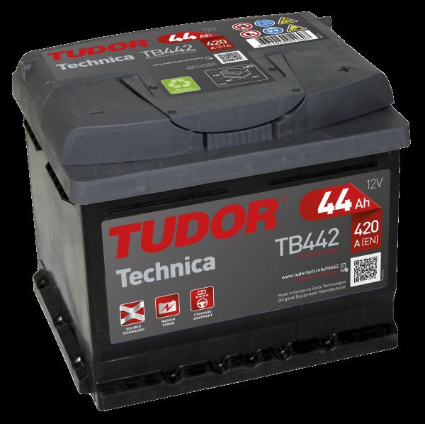 TUDOR Technica 44Ah 420A R+ TB442