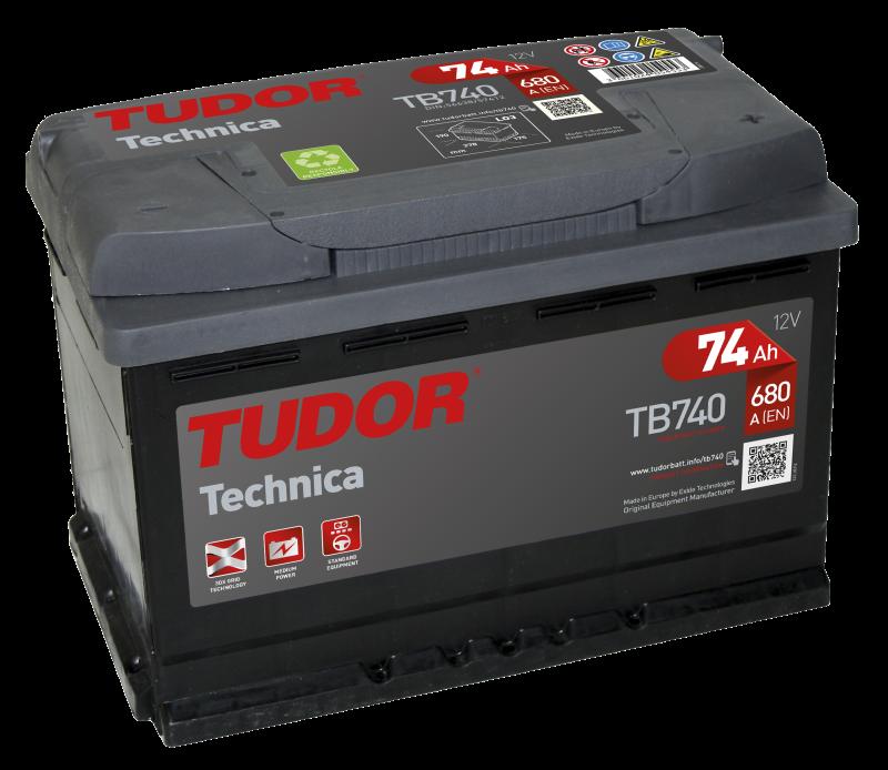 TUDOR Technica 74Ah 680A R+TB740