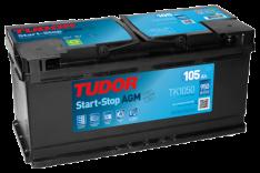 Tudor AGM 12V105Ah 950A