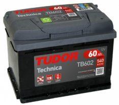 TUDOR Technica 60Ah 540A R+TB602