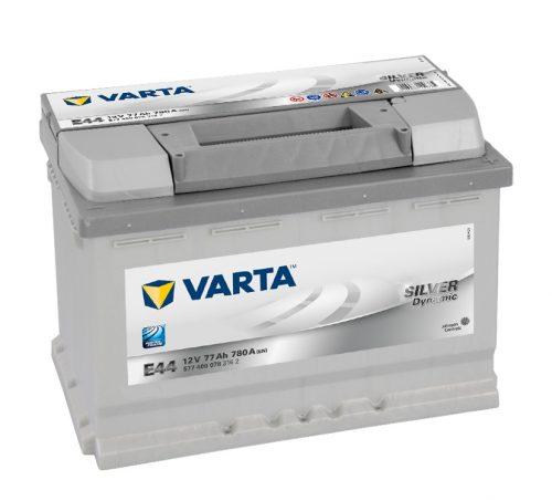 VARTA 77Ah 780A SILVER Dynamic Е44 ETN 577 400 078