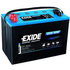 Exide EP900 Dual AGM 100Ah 720A L+ 900Wh