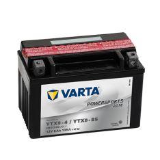 VARTA POWERSPORTS AGM YTX9-BS 8Ah 135A 12V