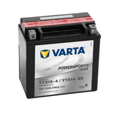 VARTA POWERSPORTS AGM YTX14-BS
