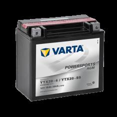 VARTA POWERSPORTS AGM YTX20-BS 18Ah 250A 12V