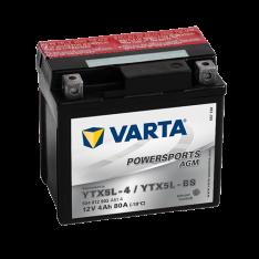 VARTA POWERSPORTS AGM YTX5L-BS 4Ah 80A 12V