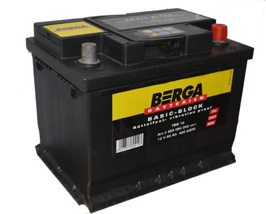 Berga basic block 12V55ah