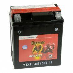 Banner Bike Bull AGM YTX7L-BS 6Ah 100A 12V 506 14