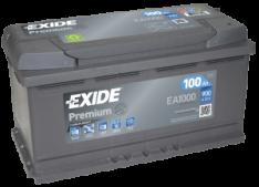 Exide Premium 100Ah 900A R+ ea1000