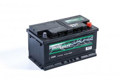 Gigawatt 80Ah 740A R+ G80R