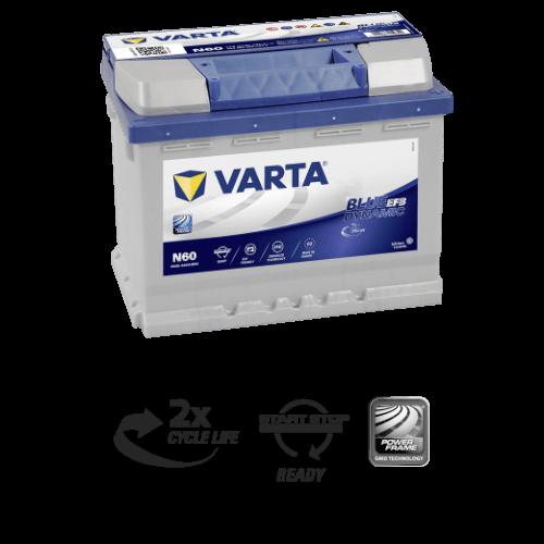 Varta Blue Dynamic EFB 60Ah 640A R+
