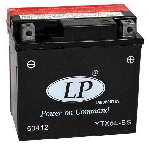 YTX5L-BS Landport мото акумулатор